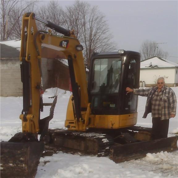 Cat 302 5 Excavator